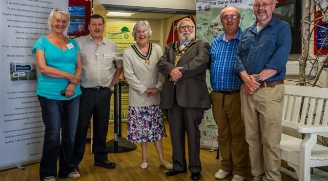 Bryngarw Exhibition & The Mayor
